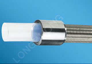 S.S. Wire Braided Teflon Hose (Corrugated)